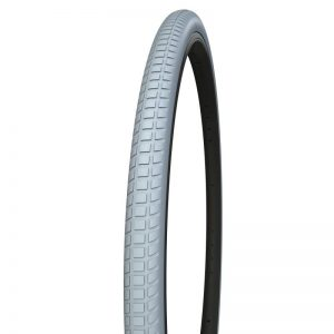 [202001060] 24 x 1-3-8- Rolko polyurethane tire, gray, ETRTO 37-540, R410